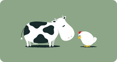 chicken or cow