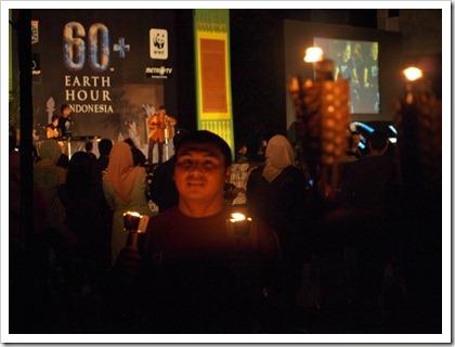 Earth Hour 2011 Jakarta