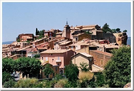 Vaucluse-roussillon-village