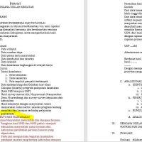 Contoh Isi RUK N+1 yang sudah disesuaikan dengan Akreditasi Puskesmas